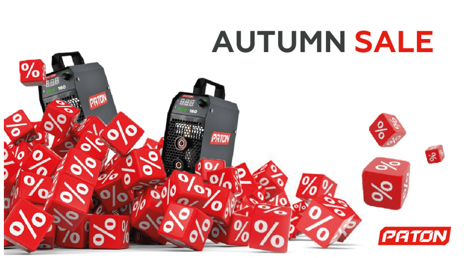 AUTUMN DISCOUNTS ON THE MOST POPULAR MODELS!
